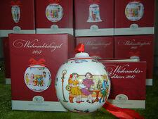 HUTSCHENREUTHER Boules de Noël Porcelaine 2017 motif : Heure du thé - NEUF +