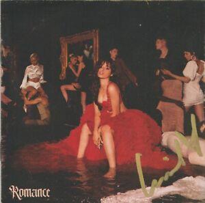 SIGNED - CAMILA CABELLO - ROMANCE  - CD - BRAND NEW