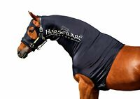 Horseware Ireland Rambo Slinky Hood Lycra Neck Cover for Show Horse Shine