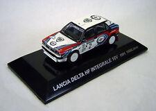 1/64 CMs RALLY CAR COL SS5 Diecast Figure LANCIA DELTA HF INTEGRALE 16V 1991