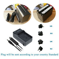 Battery  +Charger For FEELWORLD F6 5.7inch IPS HD 1920X1080P HDMI Video Monitor