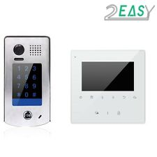 TWO EASY VIDEO INTERCOM WITH KEYPAD INTERCOM FOR GATE AUTOMATION