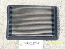K&N AIR FILTER HI-PERFOMANCE REUSABLE WASHABLE PN: 33-2107
