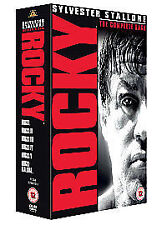 Rocky - The Complete Saga - Rocky / Rocky 2 / Rocky 3 / Rocky 4 / Rocky 5 / Rocky Balboa (DVD, 2007, 6-Disc Set, Box Set)