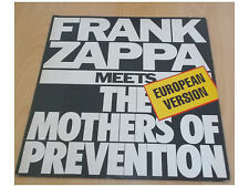 Frank Zappa ‎– Frank Zappa Meets The Mothers Of Prevention - LP Made in Brazil