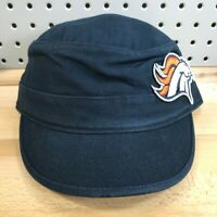 Denver Broncos NFL Football '47 Brand Cadet Military Women's Cap NWT Blue Hat
