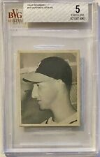 1948 Bowman #18 Warren Spahn BVG Beckett 5 Exc Boston Braves HOF RC ROOKIE!!!!!!