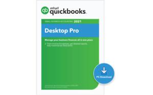1 user Intuit QuickBooks 2021 Pro (SALED)