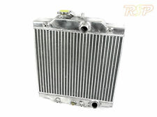 High Flow Alloy Radiator Rad Fits Honda Civic /CRX Del Sol VTi 60mm Core Depth