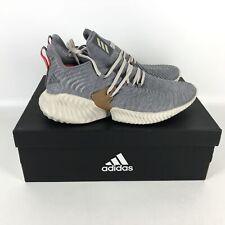 Adidas Alpha Bounce Instinct Core Running Shoes Men's Size 12 Gray B76038