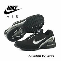 Nike Air Max Torch 3 Men's Running Sneakers Shoe 319116 Black White Gray size 14