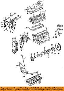 GM OEM-Engine Crankshaft Crank 91177510
