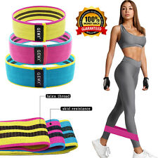 Fabric Resistance Bands Heavy Duty Booty Band Fitness Glute Leg Set Hip Circle