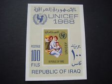 Iraq 1968 Unicef Childrens Fund Miniature Sheet SG MS 819 MH see scans