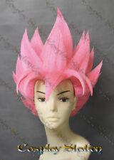 Super Saiyan Goku Pink Custom Made Cosplay Wig_commission984