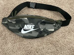 Nike Fanny Pack Crossbody Bag Camo