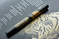 NAMIKI EMPEROR N°50 CHINKIN TIGER FLAT TOP FOUNTAIN PEN Yasuji Sumi YEAR 2009 M