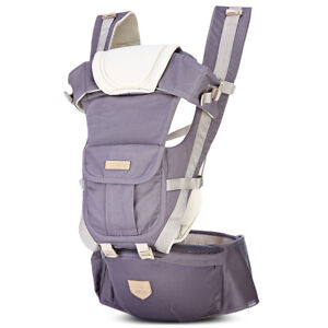Bethbear 3-in-1 Hipseat Ergonomic Baby Carrier - up to 65 lbs / 0-36 Months