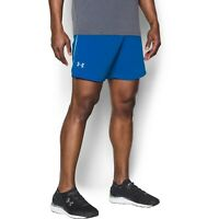 Under Armour Mens Size L Blue Coolswitch Activewear Running Shorts NWT