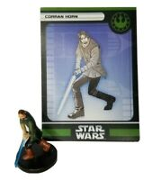 Star Wars Miniatures Champions of the Force CORRAN HORN #52 with card