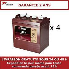 4x Trojan 8V Batterie de Bateau T875