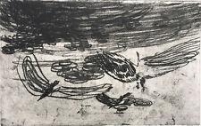 Ulrich Brauchle, Ohne Titel 2003, Radierung auf Bütten, signiert