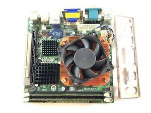KINO-G45A Mini-ITX HDMI Industrial Motherboard Socket LGA775 +E5300 CPU +3GB RAM