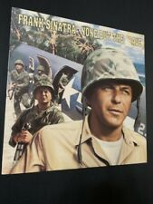 None But The Brave Warner Bros Frank Sinatra Good Condition