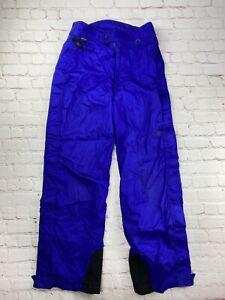 RARE The North Face Gore-Tex Vintage Purple Mountains LT Ski Pants Mens Medium