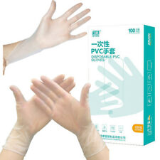 100Pcs/Set Food Plastic Gloves Disposable Gloves Eco-friendly Gloves PVC Gloves