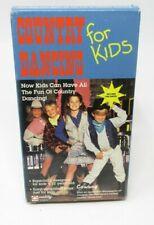DIANE HORNER: COUNTRY DANCING FOR KIDS VHS VIDEO, LINE DANCES, SIMPLE STEPS 4-12