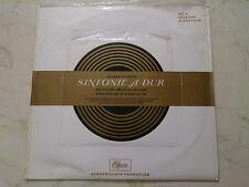 STAMITZ Sinfonie A-Dur / MOZART Sinfonie Nr. 29 / PAUMGARTNER LP+SINGLE 1960