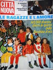 Città Nuova n°7 1969 - Lo Zecchino D'Oro del 1969 - Giuliano Taccola [D24]