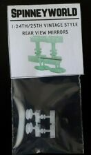 1:24/1:25 Vintage style rear view mirrors 3D printed for auto modellers