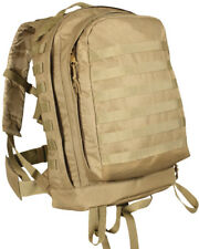 Tactical MOLLE II 3 Day Assault Pack Backpack in Coyote Brown Tan