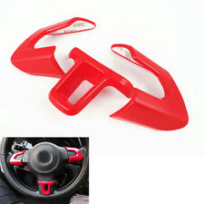 3x Interior Steering Wheel Cover Trim Decal For VW Golf MK6 POLO Bora 2013 2014
