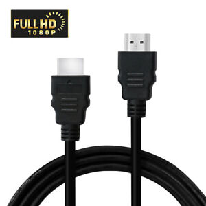 HDMI Cable 1.5M Bluray 3D DVD PS4 HDTV LCD HD TV 1080P Black High Speed