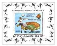 Timbre Sports Football Mozambique BF8A ** lot 17027