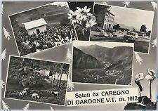 CARTOLINA d'Epoca - BRESCIA  - Caregno 1968 - Marcheno
