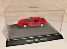 Herpa HO 1:87 Red Ferrari Testarossa in Display