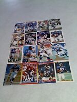 *****Rodney Hampton*****  Lot of 46 cards.....39 DIFFERENT / Football