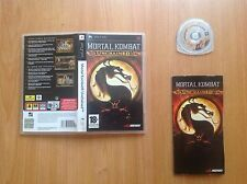 Mortal Kombat: Unchained (PSP/game/ver. EUR)
