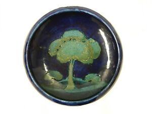 "Original William Moorcroft ""Moonlit Blue"" Fruit Bowl Circa 1930s Hand Signed"