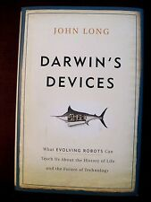 DARWIN'S DEVICES-JOHN LONG-SCIENCE-HARDCOVER WITH D/J-EVOLVING ROBOTS
