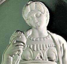"""41 gram .925 (=1.21 .999 oz) silver """"LEAH"""" Michelangelo PROOF"""