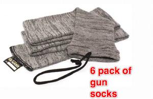 "ALLEN GRAY GUN SOCK GUN SOCKS 6 (six) PACK 52"" in length"