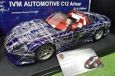 CALLAWAY C12 Chevrolet Corvette cabriolet MUKO IVM AUTOMOTIVE 1/18 AUTOart 71014