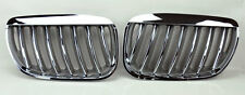 Chrome Front Hood Kidney Sport Grills Pair FITS BMW X5 E53 04-06