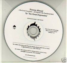 (K30) Forever Altered, The Great Depression - DJ CD
