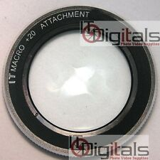 55mm MACRO +20 CLOSEUP LENS FILTER Attachement No.20  IT Camera  55IT20 Circular